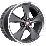 Centerline Alloy Wheels <br/>635MA MM6 Satin Anthracite Grey Center with Machined Lip and Fingers