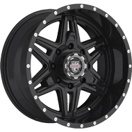 Centerline Alloy Wheels <br/>831B LT2 Gloss Black with Spot Milled Lip Accents