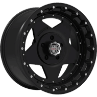 Centerline Alloy Wheels <br/>832MB RT1MB Gloss Black with Machined Center