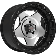 Centerline Alloy Wheels <br/>832SB RT1 Satin Black