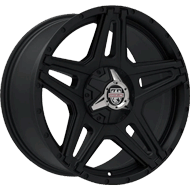 Centerline Alloy Wheels <br/>834SB ST1 Satin Black