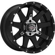 Centerline Alloy Wheels <br/>835MB ST2 Satin Black with Machined PCD Bowl