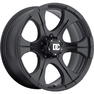 Dick Cepek Wheels <br/>DC Blackout Matte Black