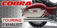 Cobra Touring Bike Exhausts