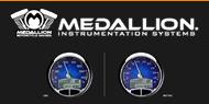 Medallion Motorcyle 5'' Console Gauge