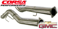 Corsa Downpipe Exhaust for Chevy/GMC