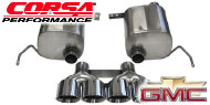 Corsa Valve-Back Exhaust Systems for Chevy/GMC