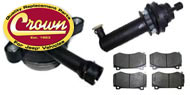 Crown Automotive <br>Truck/SUV Brake Parts and Kits