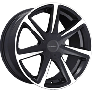 Cruiser Alloy <br/> 922MB Kinetic Gloss Black with Mirror Machined Lip and Spoke Accents