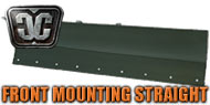Front Frame Mounting Straight Blades<br/> by Cycle Country