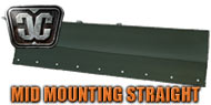 Mid Frame Mounting Straight Plow Blades<br/> by Cycle Country
