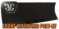 Front Frame Mounting Poly-XT Blades<br/> by Cycle Country