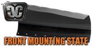Front Frame Mounting State Plow Blades<br/> by Cycle Country