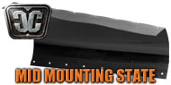 Mid Frame Mounting State Plow Blades<br/> by Cycle Country