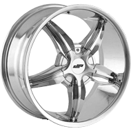 DIP WHEELS<br /> D35 DIPLOMAT CHROME