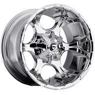 Fuel D522 Dune Chrome Wheels
