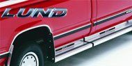Lund<br> Delta III Running Boards
