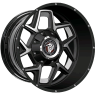 Diablo Offroad DO-03 Enforcer <br/>Gloss Black Machined Wheels