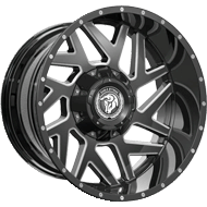 Diablo Offroad DO-04 Savage <br/>Gloss Black Milled Wheels