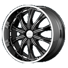 Diamo Wheels<br>30 Karat Black