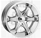 Dip Wheels <br/>Assail D02 Chrome