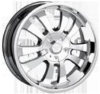 Dip Wheels <br/>D10 Chrome