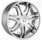 Dip Wheels <br/>Phantom D25 Chrome