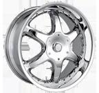Dip Wheels <br/>Exodus D41 Chrome