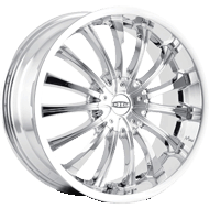 Dip Wheels <br> Hype D50 Chrome