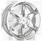 Dip Wheels <br/>Flyer D41 Chrome