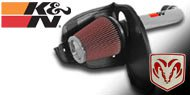 K&N Air Intake Kits <br> Dodge