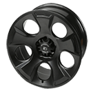 Rugged Ridge<br> Drakon Jeep Wheel Satin Black