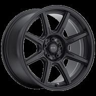 Drifz 308B Spec-R Carbon Black 4 Lug Wheels