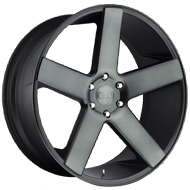DUB Wheels Baller S116 <br/> Black Machined