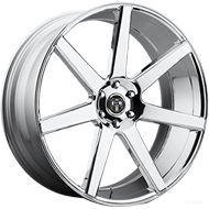 DUB Wheels Future S126 <br/> Chrome