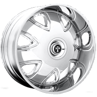DUB Wheels Bandito S136 <br/> Chrome