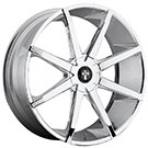DUB Wheels Push S201<br /> Chrome