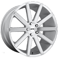 DUB Wheels Shot Calla S212<br /> Silver Brush