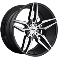 DUB Wheels Attack-5 S215<br /> Black Brush