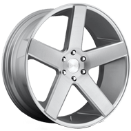 DUB Wheels Baller S218<br /> Silver Brush