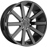 DUB Wheels Shot Calla S219 <br/> Gloss Black
