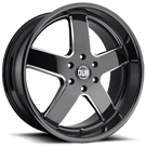 DUB Wheels Big Baller S223 <br/> Gloss Black Milled