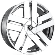 DUB Wheels Butta S224 <br/> Chrome