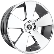 DUB Wheels Del Grande S229 <br/> Chrome