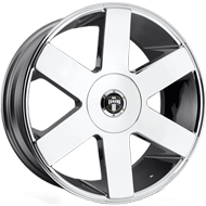 DUB Wheels Baller Six S232 <br/> Chrome