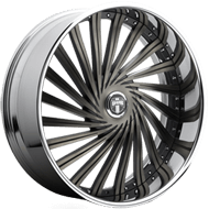 DUB Wheels Dazed S241<br /> Black Machined
