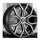 DUB Royalty S209 Matte Black DDT Wheels