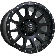 DWG Offroad <br/>DW10 Force Matte Black Wheels