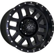 DWG Offroad <br/>DW11 Kinetic Matte Black Wheels