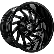 DWG Offroad <br/>DW13 Crusher All Gloss Black Wheels